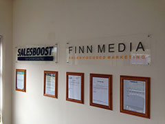 New office for Finn Media Marketing and SalesBoost